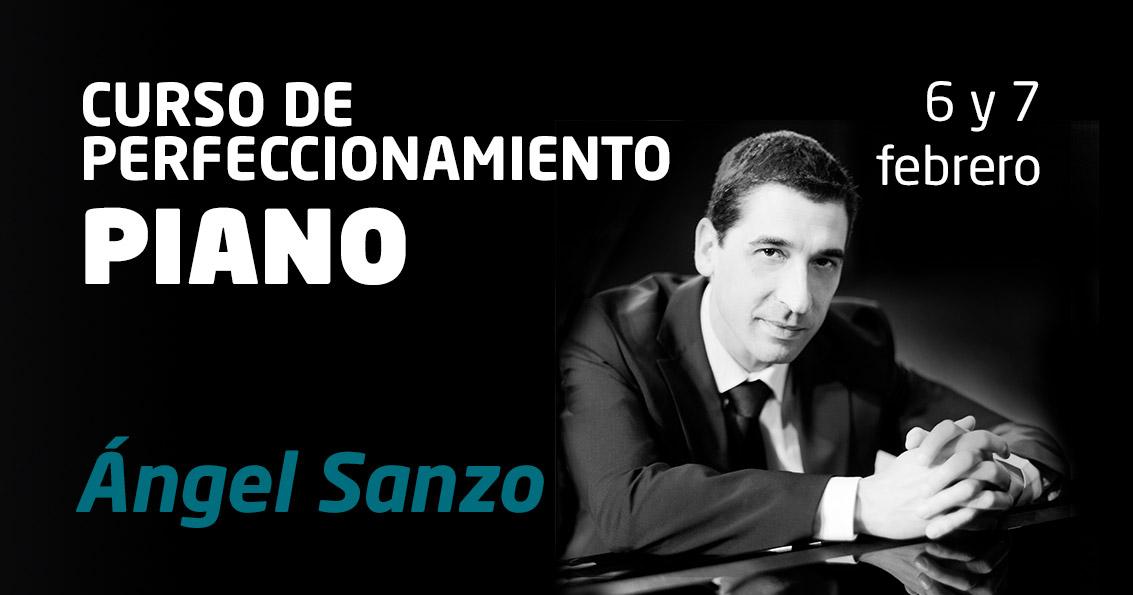 Curso Perfeccionamiento Piano Ángel Sanzo