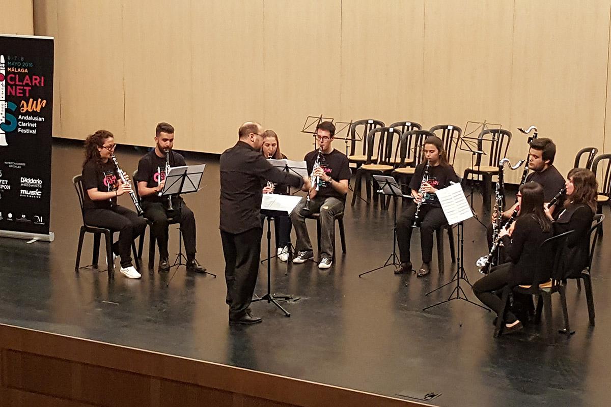 Coro de Clarinete del CLARINETsur 2016 José Miguel Ruiz Arroyo