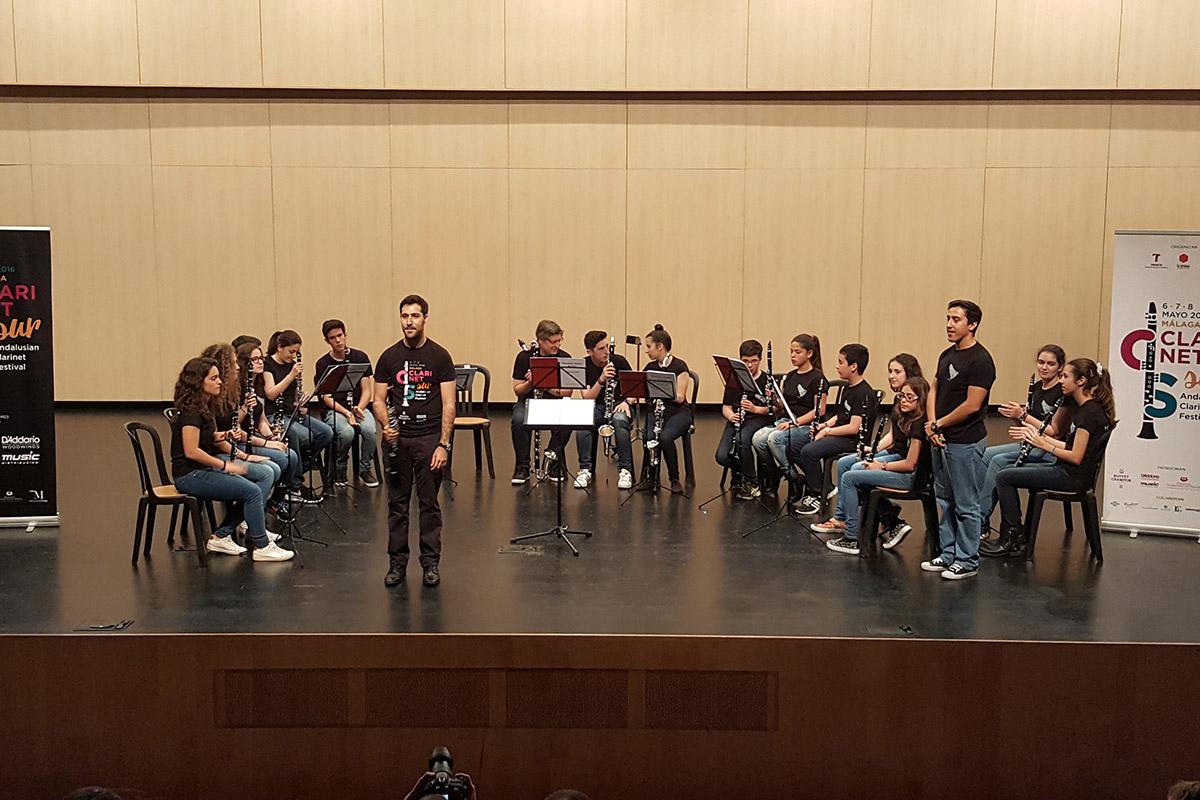 Coro de Clarinete del CPM Martín Tenllado CLARINETsur 2016 Julian Godinez Alberto M Barbero