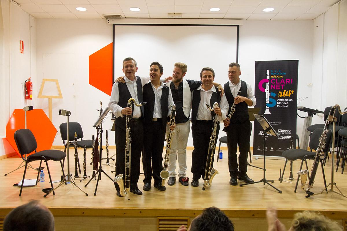 Ebony Quintet CLARINETsur 2016