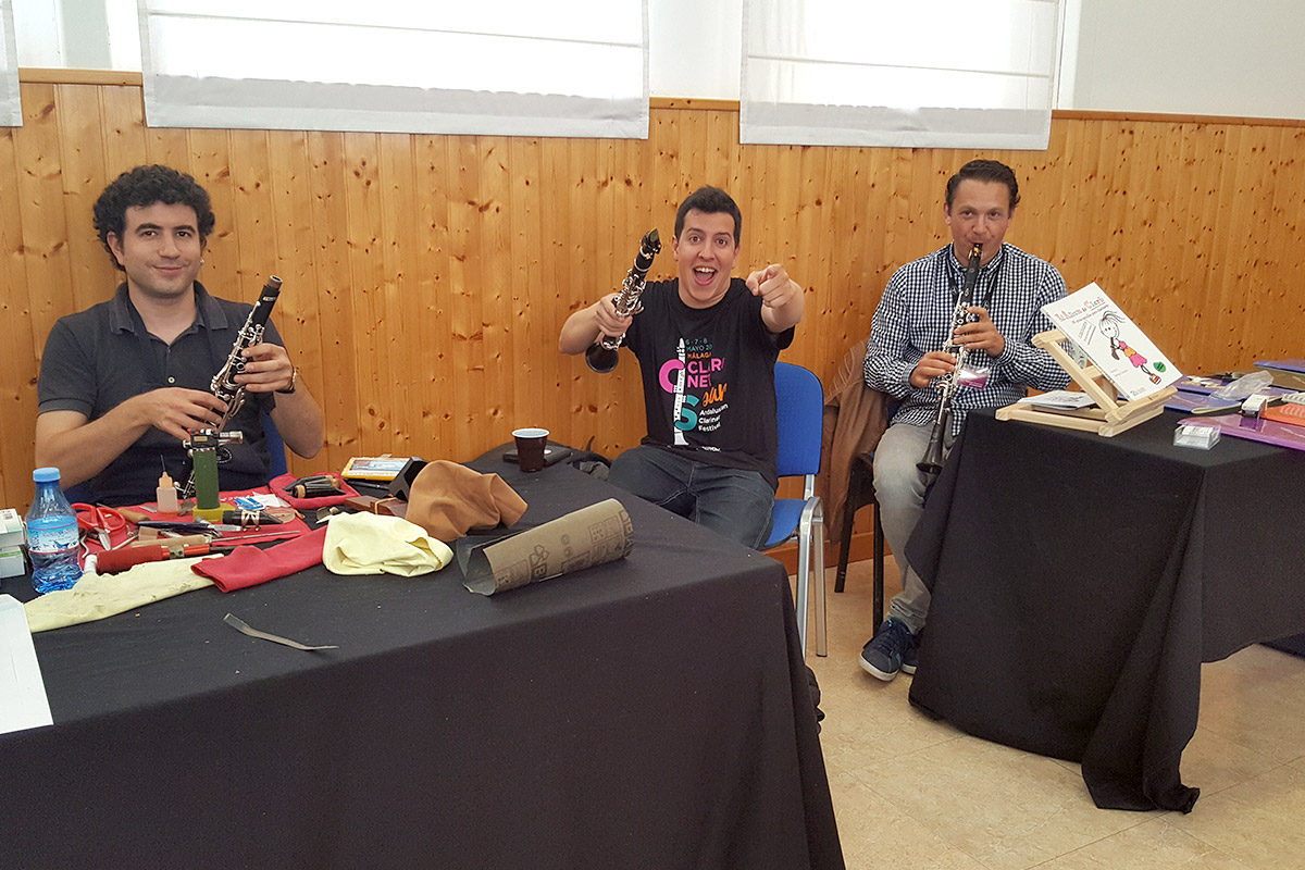 Marc Oró Juan Pardo Santiago Comesaña CLARINETsur 2016