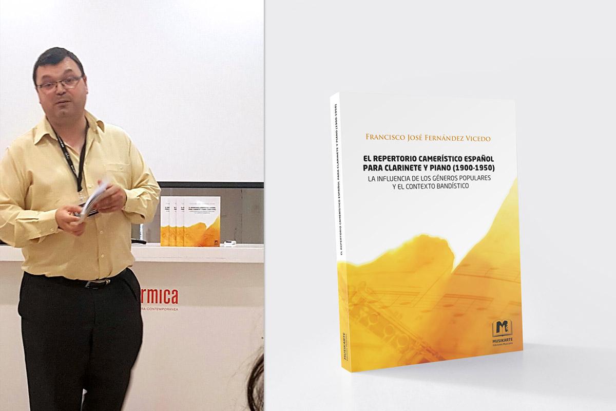 Presentación libro Francisco José Fernandez Vicedo CLARINETsur 2016