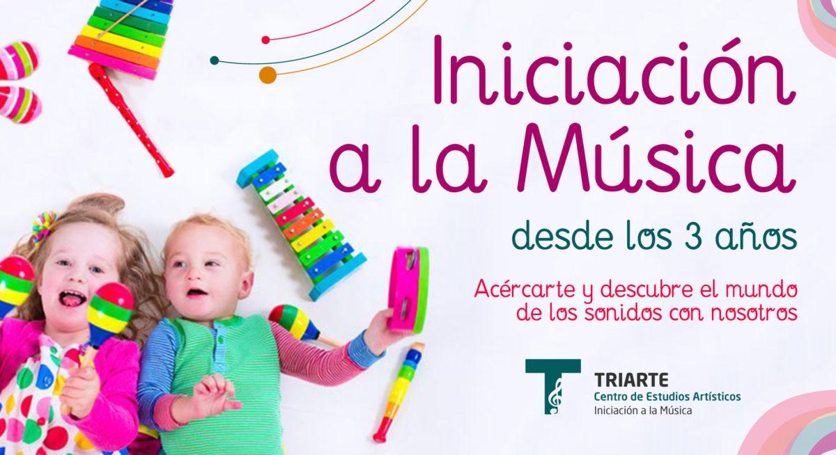 Iniciación a la Música. Niños de 3 años. Clases de Música Málaga. Música en Málaga para NIños.