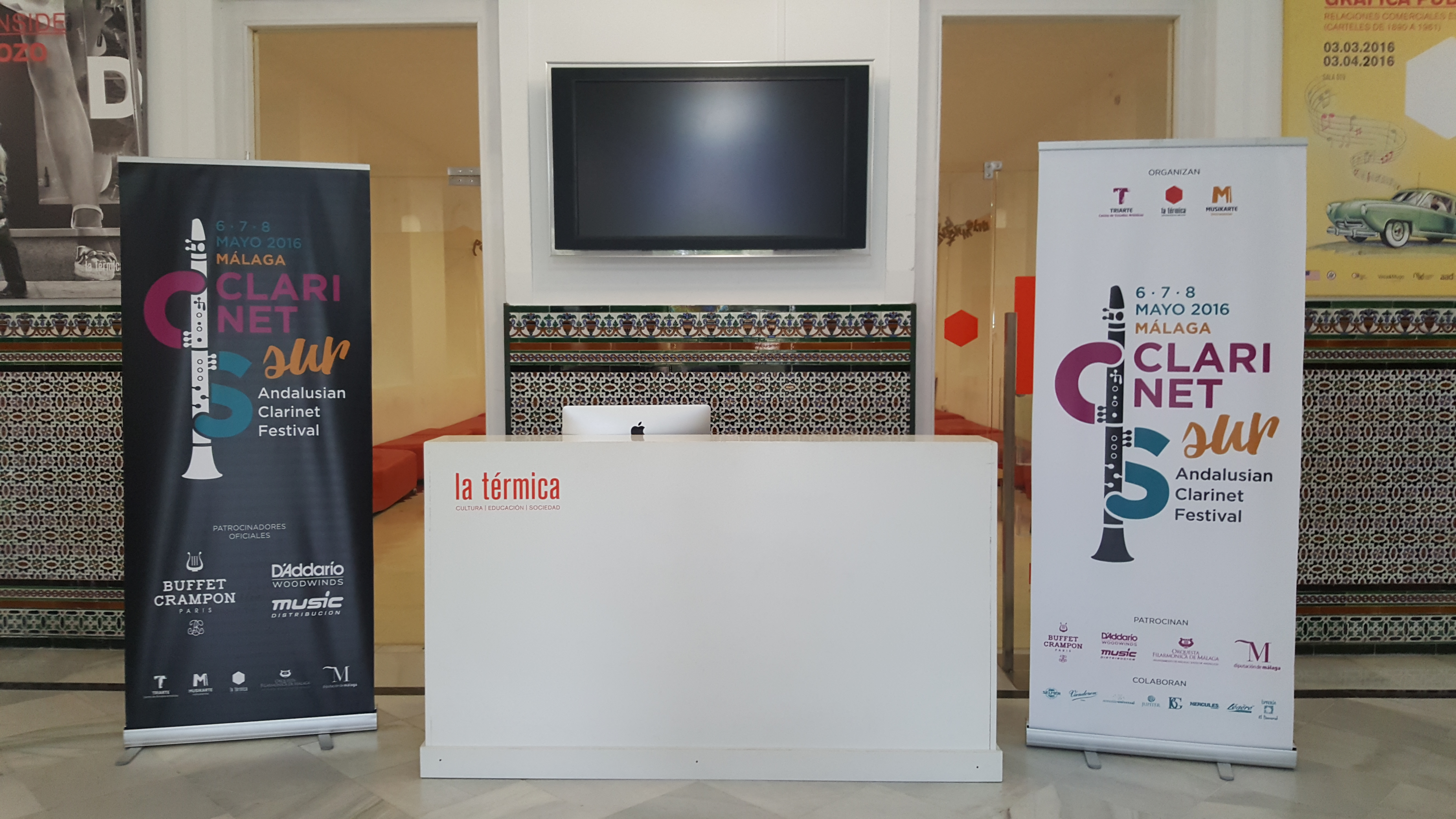 CLARINETsur Andalusian Clarinet Festival Málaga Mayo 2016