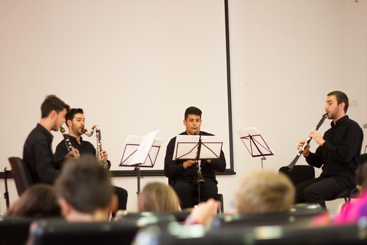 Cuarteto Gibralfaro CLARINETsur 2016