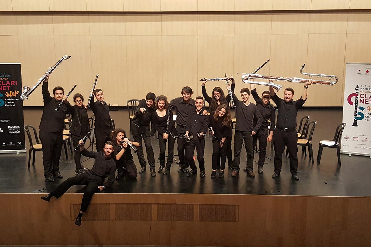 Ensemble de Clarinete del CSM de Sevilla Antonio Salguero