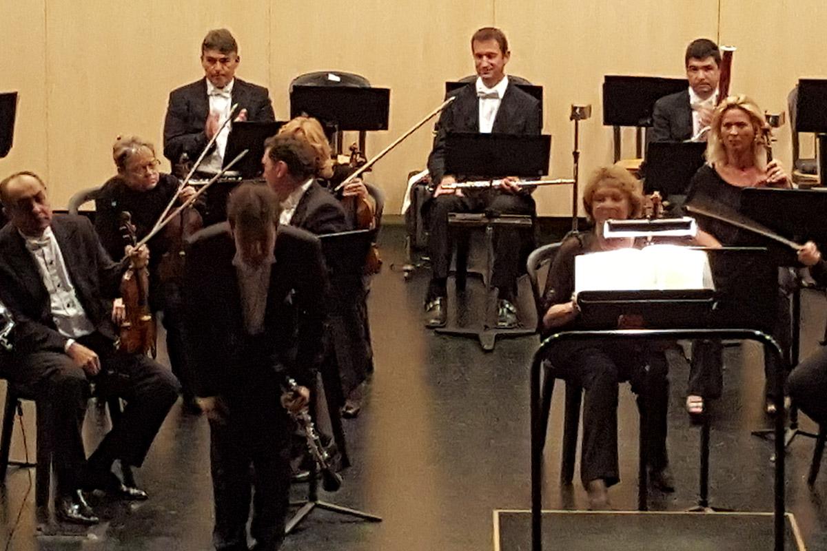 Pablo Barragán Orquesta Filarmónica de Málaga CLARINETsur 2016