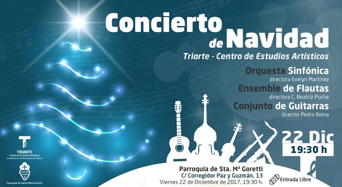 concierto de navidad en Iglesia Santa Maria Goretti Málaga