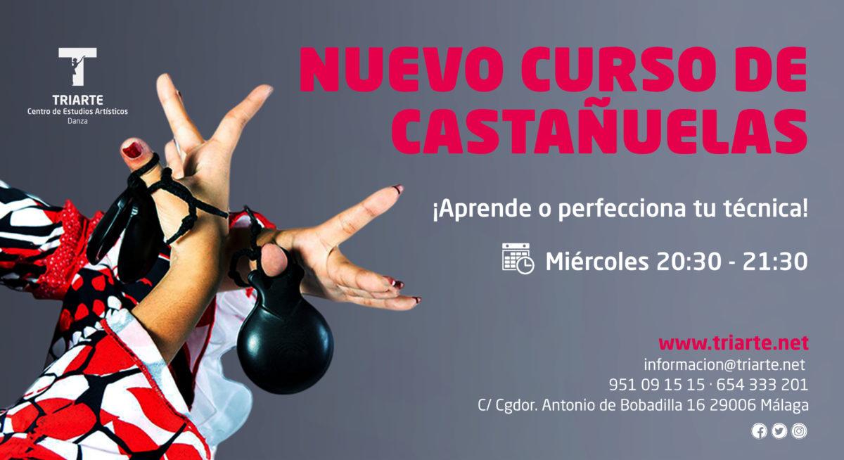 Nuevo Curso de Castañuelas 2019. TRIARTE.