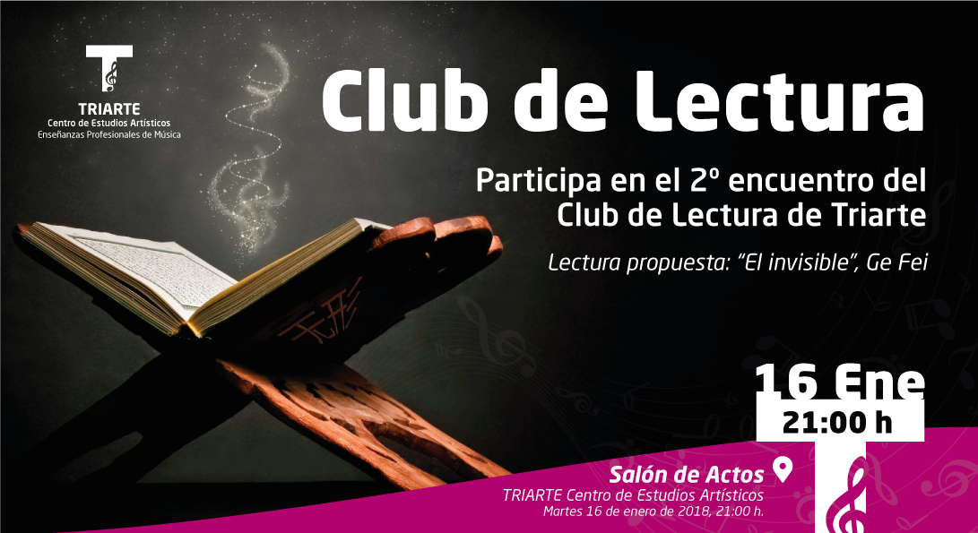 Segundo encuentro del Club de Lectura de Triarte, Málaga.
