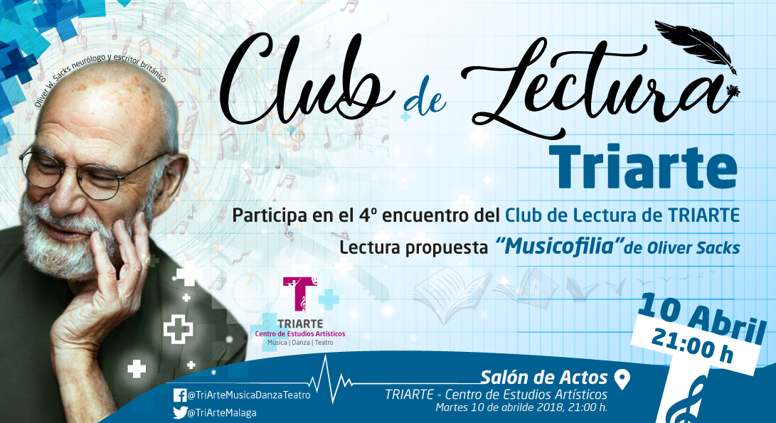 club, lectura, Triarte, Musicofilia, oliver sacks