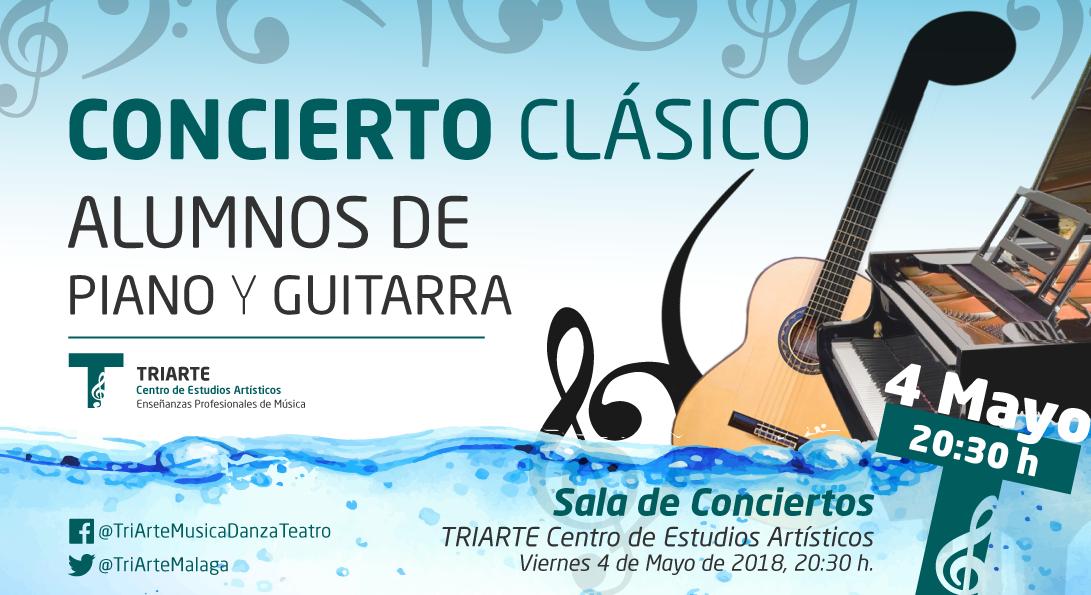 Concierto de Piano y Guitarra celebrado el 4 de Mayo de 2018 en TRIARTE