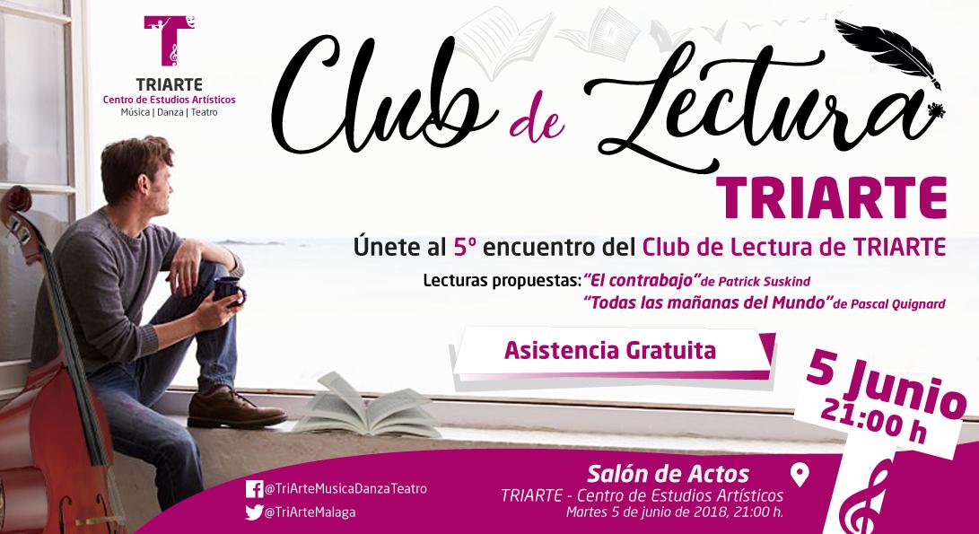 V Edición del Club de Lectura de Triarte, Málaga.