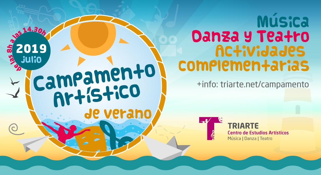 Campamento Artístico de Verano 2018 de Triarte, Málaga. Actividad realizada en julio de 2018 para niños desde 4 a 10 años.