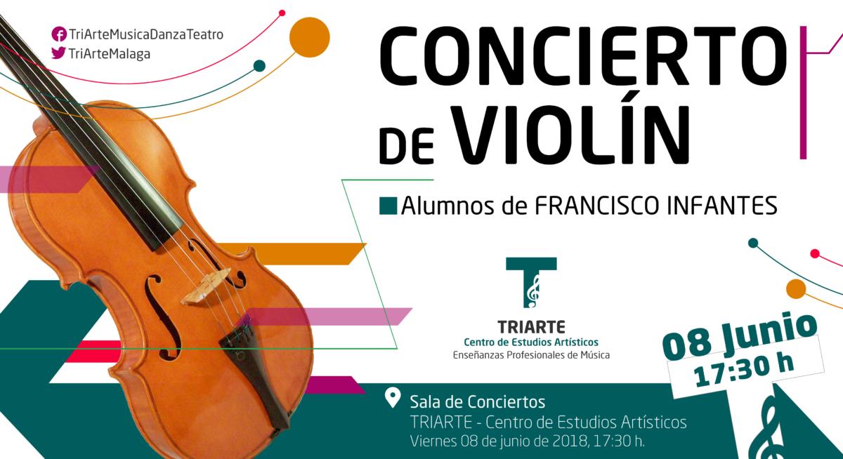 Concierto de Violín. Alumnos de TRIARTE- Centro de Estudios Artísticos, Málaga.