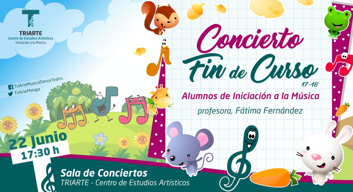 Concierto Fin de Curso. Iniciación a la Música. Triarte, Málaga. Clases de Música para niños de 4 y 5 años