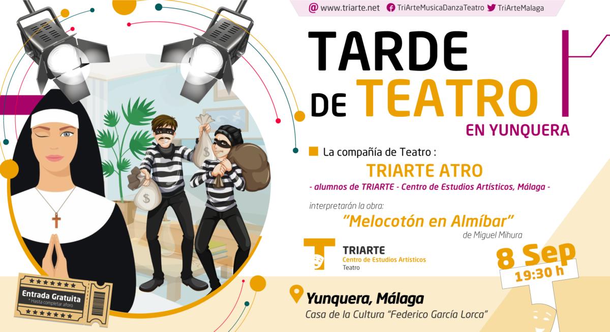 TRIARTE ATRO. Alumnos de Triarte Málaga. Actuación en Yunquera