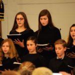 I Encuentro de Navidad de Coros Juveniles. Coro Juvenil de Triarte y el Coro Joven del Conservatorio Martín Tenllado