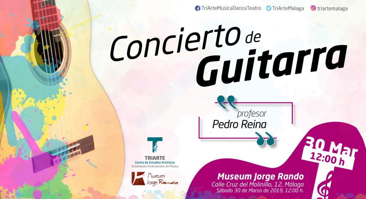 Conjunto de Guitarras Triarte,. Concierto en el Musem Jorge Rando de Málaga. Organiza Fundación Jorge Rando. Marzo 2019.