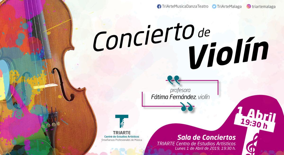 Concierto de Violín. Alumnos de Fátima Fernández.