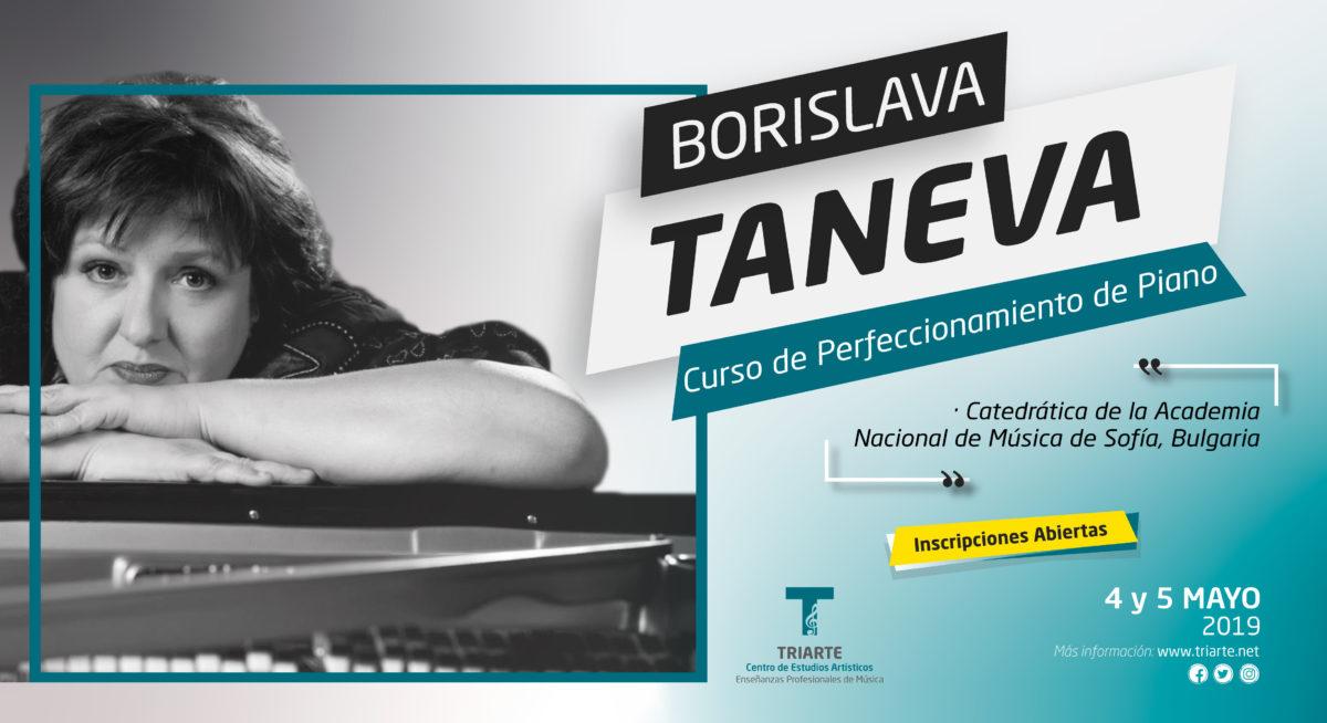 Curso de Perfeccionamiento de Piano - Borislava Taneva
