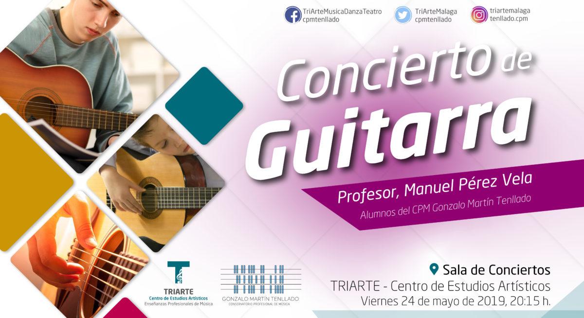 Concierto de Alumnos del CPM Gonzalo MArtín Tenllado. Viernes 24 mayo de 2019.