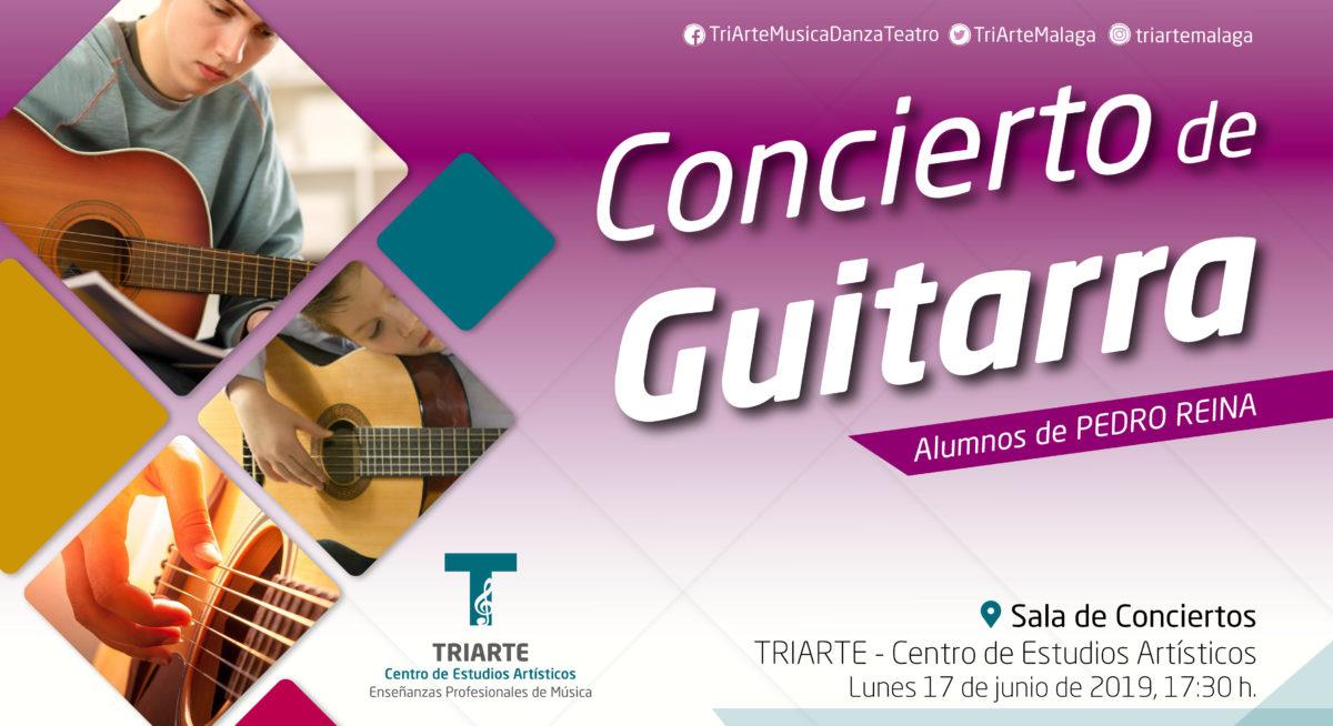 Concierto de Guitarra. Fin de Curso TRIARTE - Centro de Estudios Artísticos. Málaga 2019.