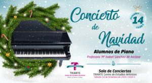 Concierto de Piano - Navidad 2019 - Triarte. Alumnos de María Isabel Sánchez de Alcázar.