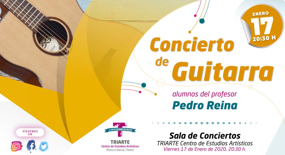 Concierto de Guitarras. Málaga. Conservatorio de Música TRIARTE
