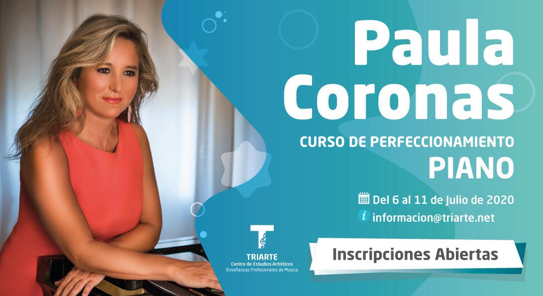 Curso de perfeccionamiento de Piano Paula Coronas