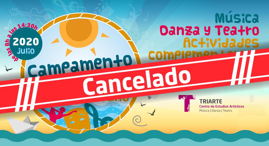 Finalmente hemos cancelado nuestro Campamento Artístico de Verano 2020