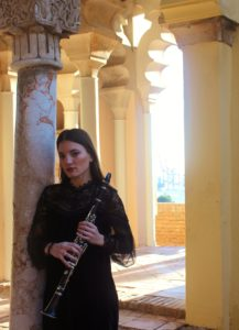 Susana Rios Mena, profesora de clarinete