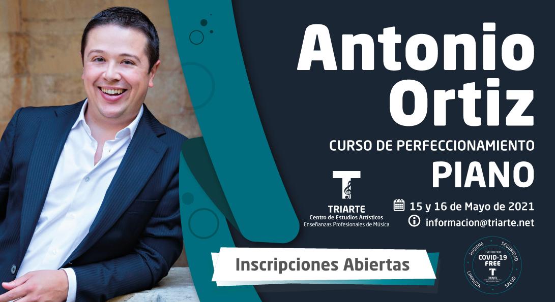 Antonio Ortiz- Curso de Perfeccionamiento - TRIARTE
