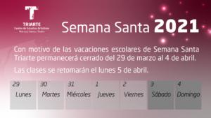 Semana Santa 2021 - TRIARTE